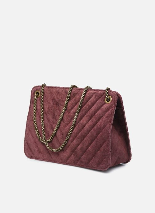 Bolsos de mano Georgia Rose Marco Leather Violeta      vista lateral derecha
